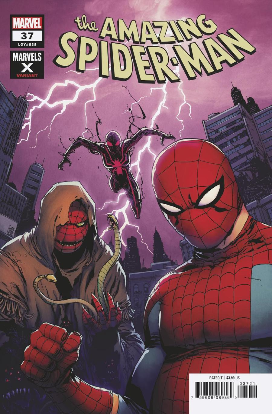 Amazing Spider-Man Vol 5 #37 Cover B Variant Giuseppe Camuncoli Marvels X Cover