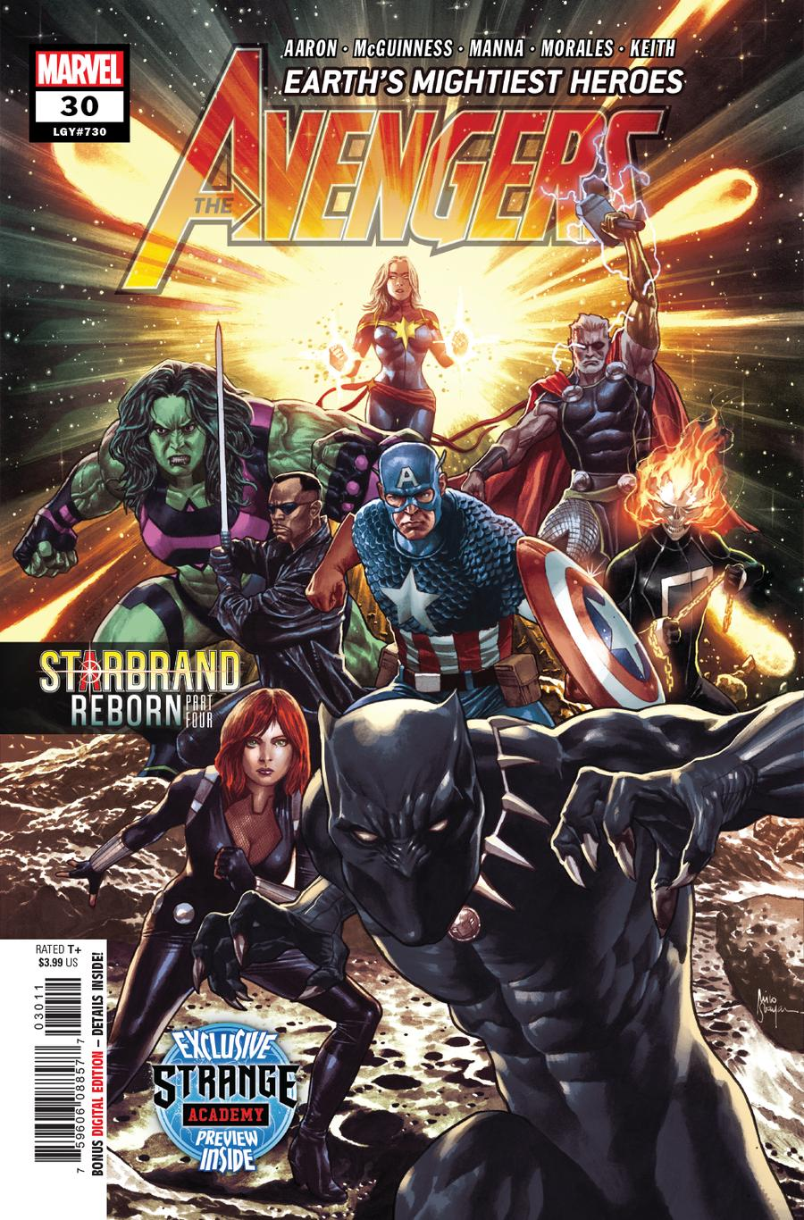 Avengers Vol 7 #30 Cover A 1st Ptg Regular Mico Suayan Cover