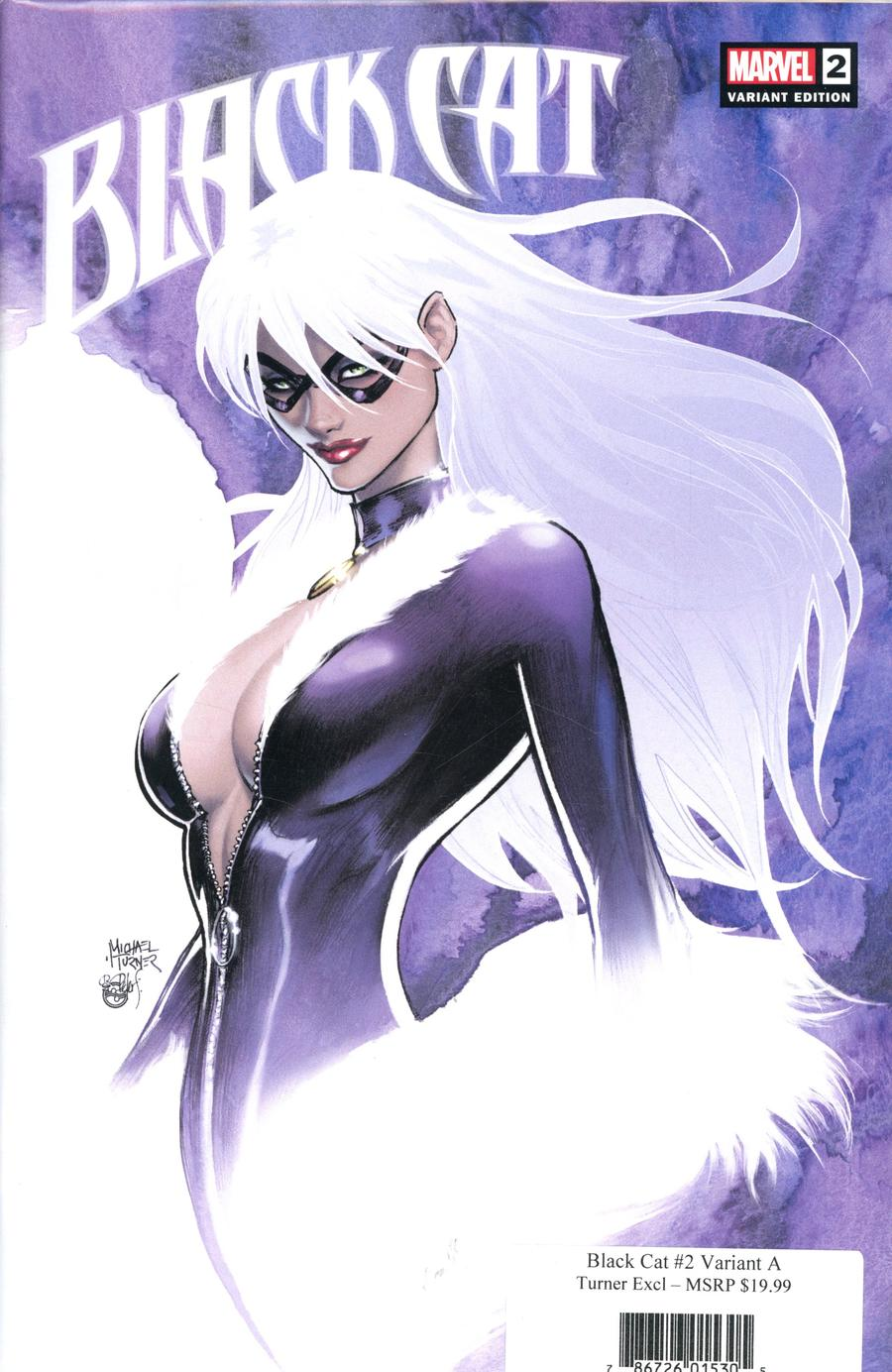 Black Cat #2 Cover G Aspen Comics Exclusive Michael Turner A Variant Cover