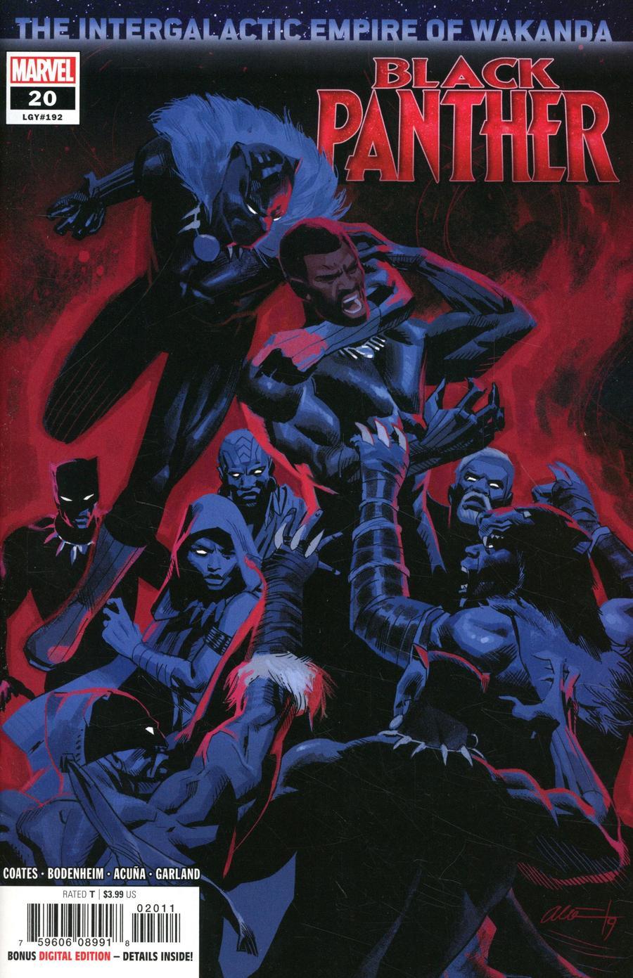Black Panther Vol 7 #20 Cover A Regular Daniel Acuna Cover