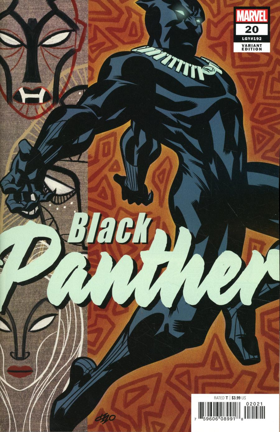 Black Panther Vol 7 #20 Cover B Variant Michael Cho Cover