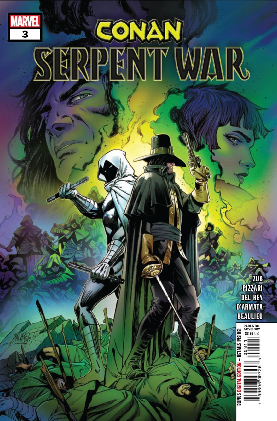 Conan Serpent War #3 Cover A Regular Carlos Pacheco Cover