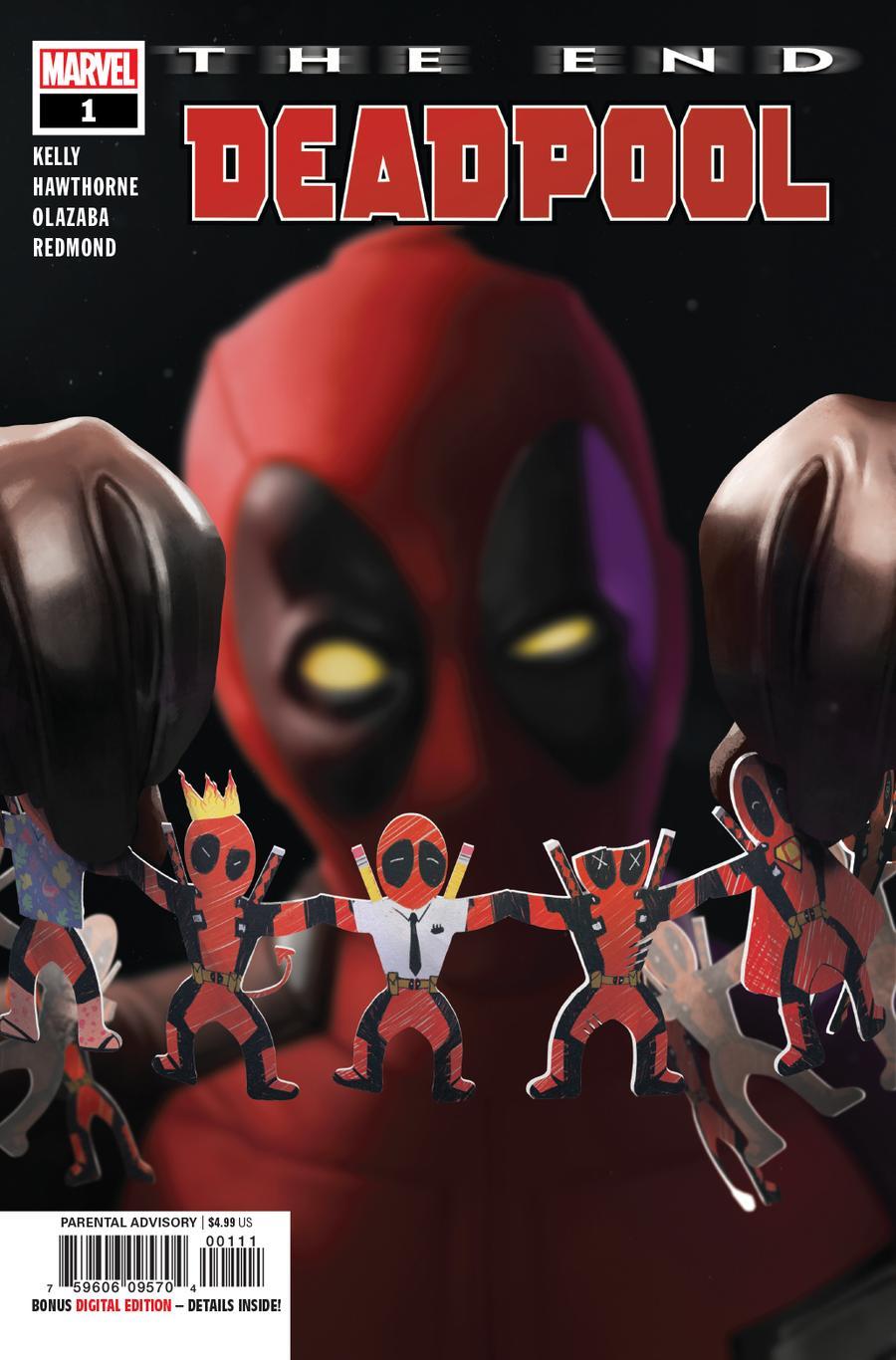 Deadpool The End One Shot Cover A Regular Rahzzah Cover