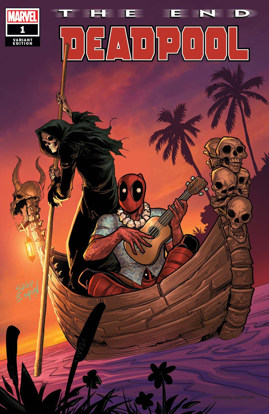 Deadpool The End One Shot Cover B Variant Salva Espin Cover
