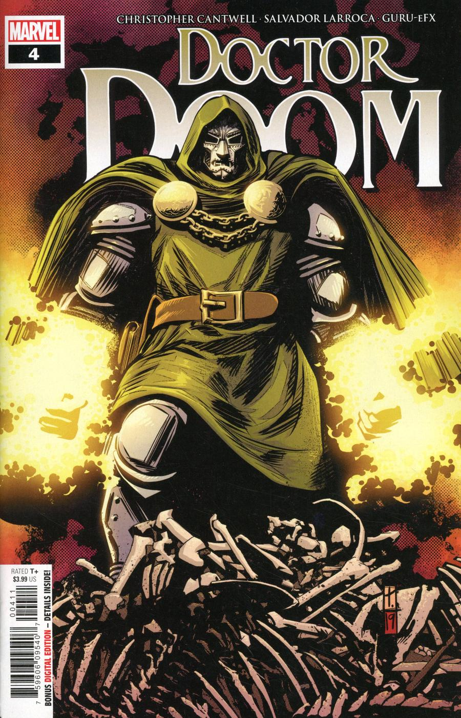 Doctor Doom #4 Cover A 1st Ptg Regular Tomm Coker Cover