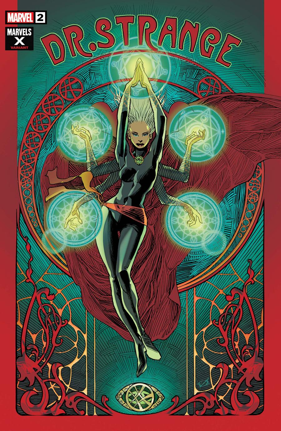 Doctor Strange Surgeon Supreme #2 Cover B Variant Olivier Vatine Marvels X Cover