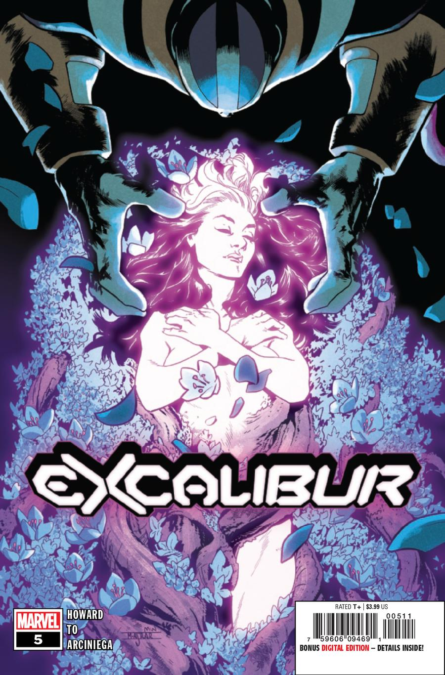 Excalibur Vol 4 #5 Cover A 1st Ptg Regular Mahmud Asrar Cover (Dawn Of X Tie-In)
