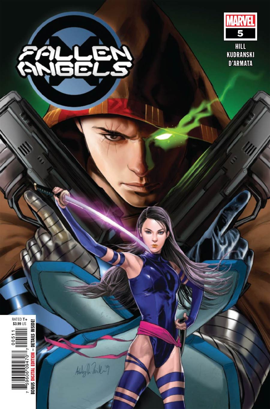 Fallen Angels Vol 2 #5 Cover A 1st Ptg Regular Ashley Witter Cover (Dawn Of X Tie-In)