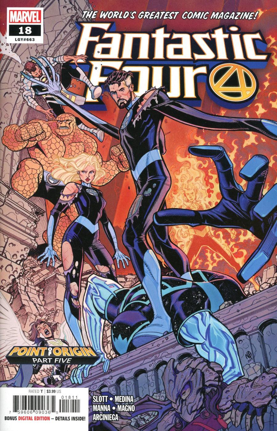 Fantastic Four Vol 6 #18 Cover A Regular Nick Bradshaw Cover
