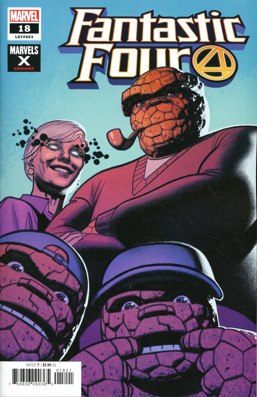 Fantastic Four Vol 6 #18 Cover B Variant Greg Smallwood Marvels X Cover