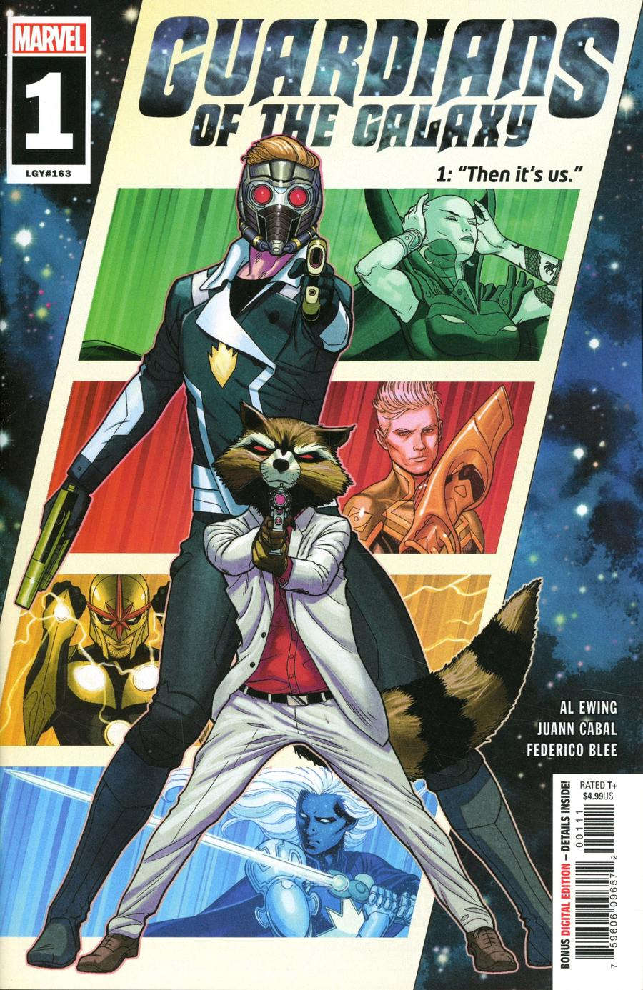 Guardians Of The Galaxy Vol 6 #1 Cover A 1st Ptg Regular Juann Cabal Cover