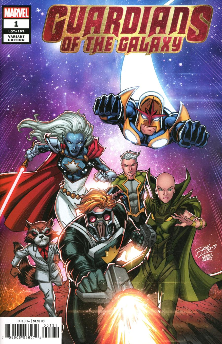 Guardians Of The Galaxy Vol 6 #1 Cover C Variant Ron Lim Cover
