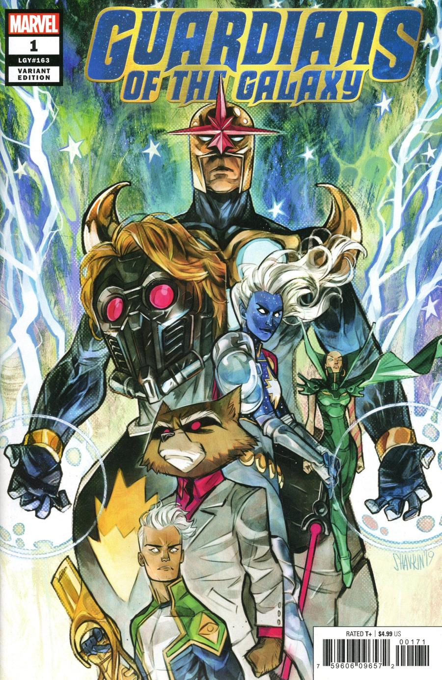 Guardians Of The Galaxy Vol 6 #1 Cover D Variant Ivan Shavrin Cover