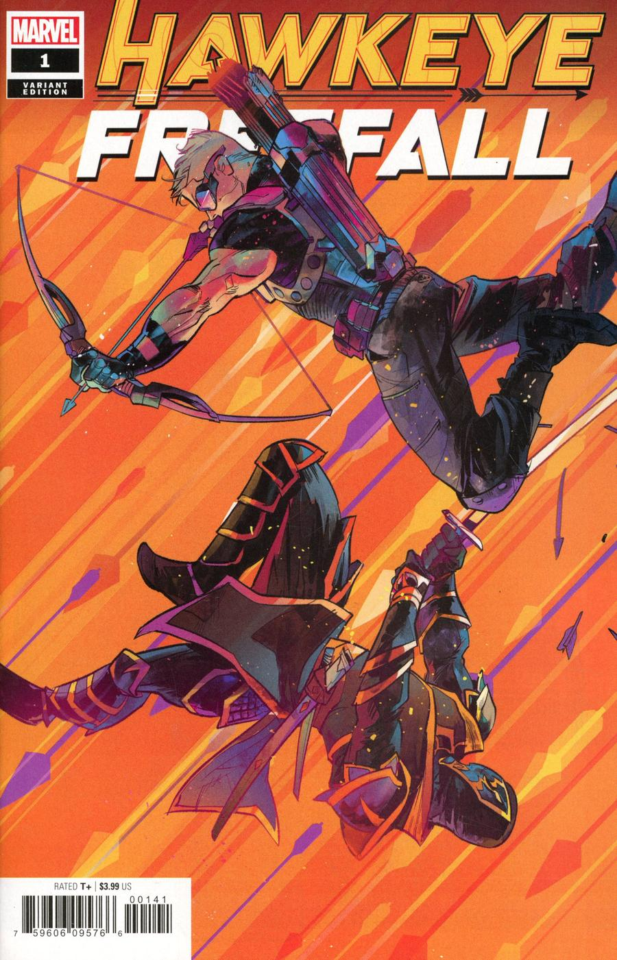 Hawkeye Freefall #1 Cover B Variant Otto Schmidt Cover