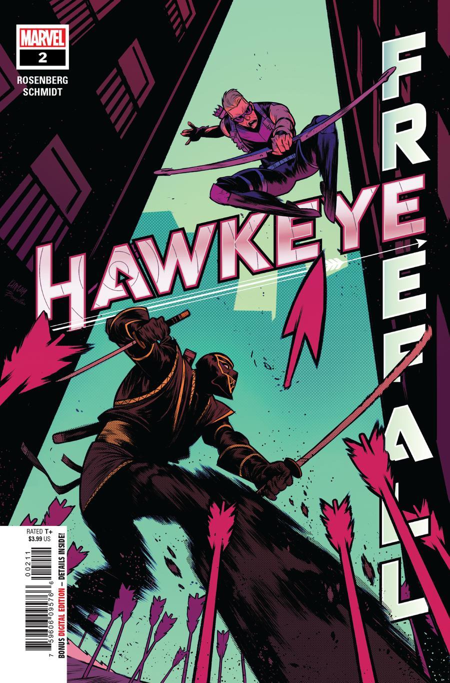 Hawkeye Freefall #2 Cover A Regular Kim Jacinto Cover