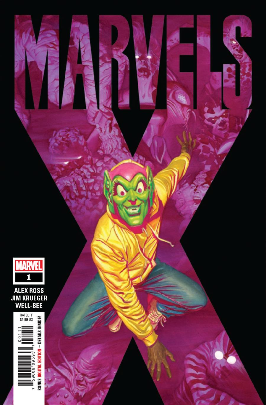 Marvels X #1 Cover A Regular Alex Ross Cover
