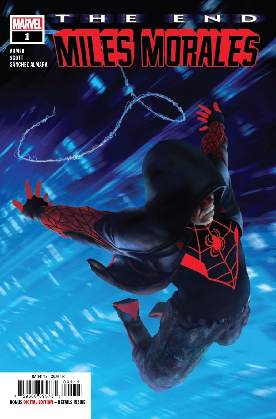 Miles Morales The End One Shot Cover A Regular Rahzzah Cover