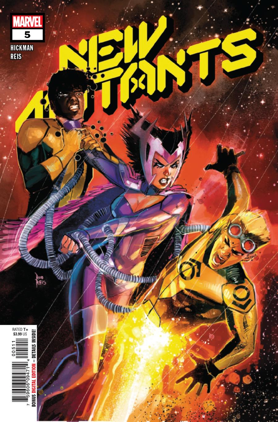 New Mutants Vol 4 #5 Cover A Regular Rod Reis Cover (Dawn Of X Tie-In)