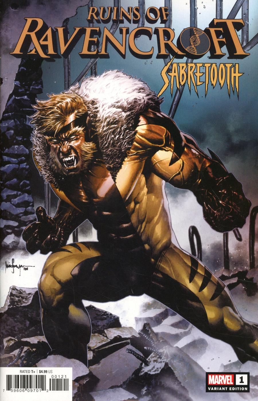 Ruins Of Ravencroft Sabretooth One Shot Cover B Variant Mico Suayan Cover