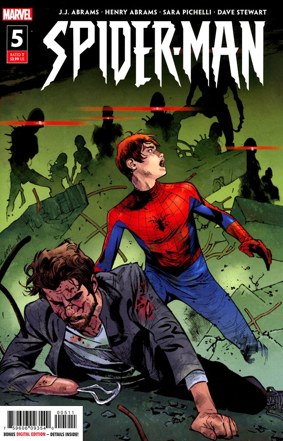 Spider-Man Vol 3 #5 Cover A Regular Olivier Coipel Cover