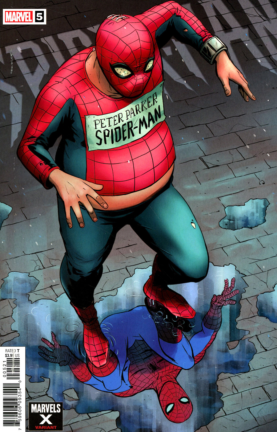 Spider-Man Vol 3 #5 Cover B Variant Javier Rodriguez Marvels X Cover