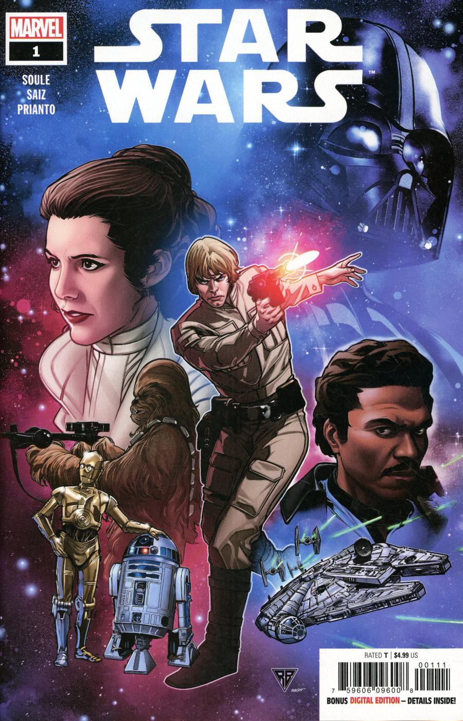 Star Wars Vol 5 #1 Cover A Regular RB Silva Cover