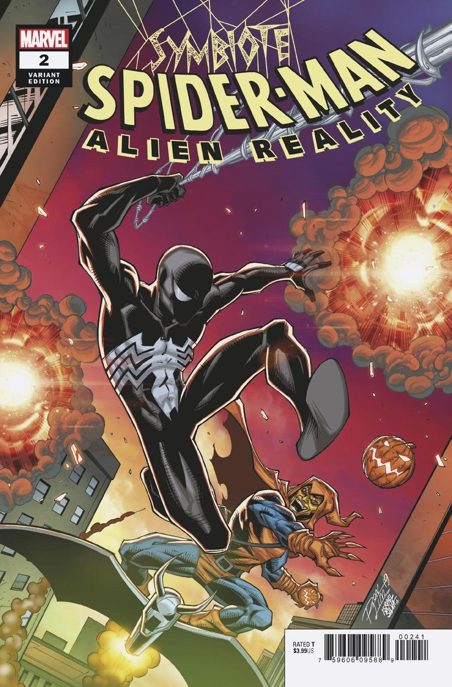 Symbiote Spider-Man Alien Reality #2 Cover C Variant Ron Lim Cover