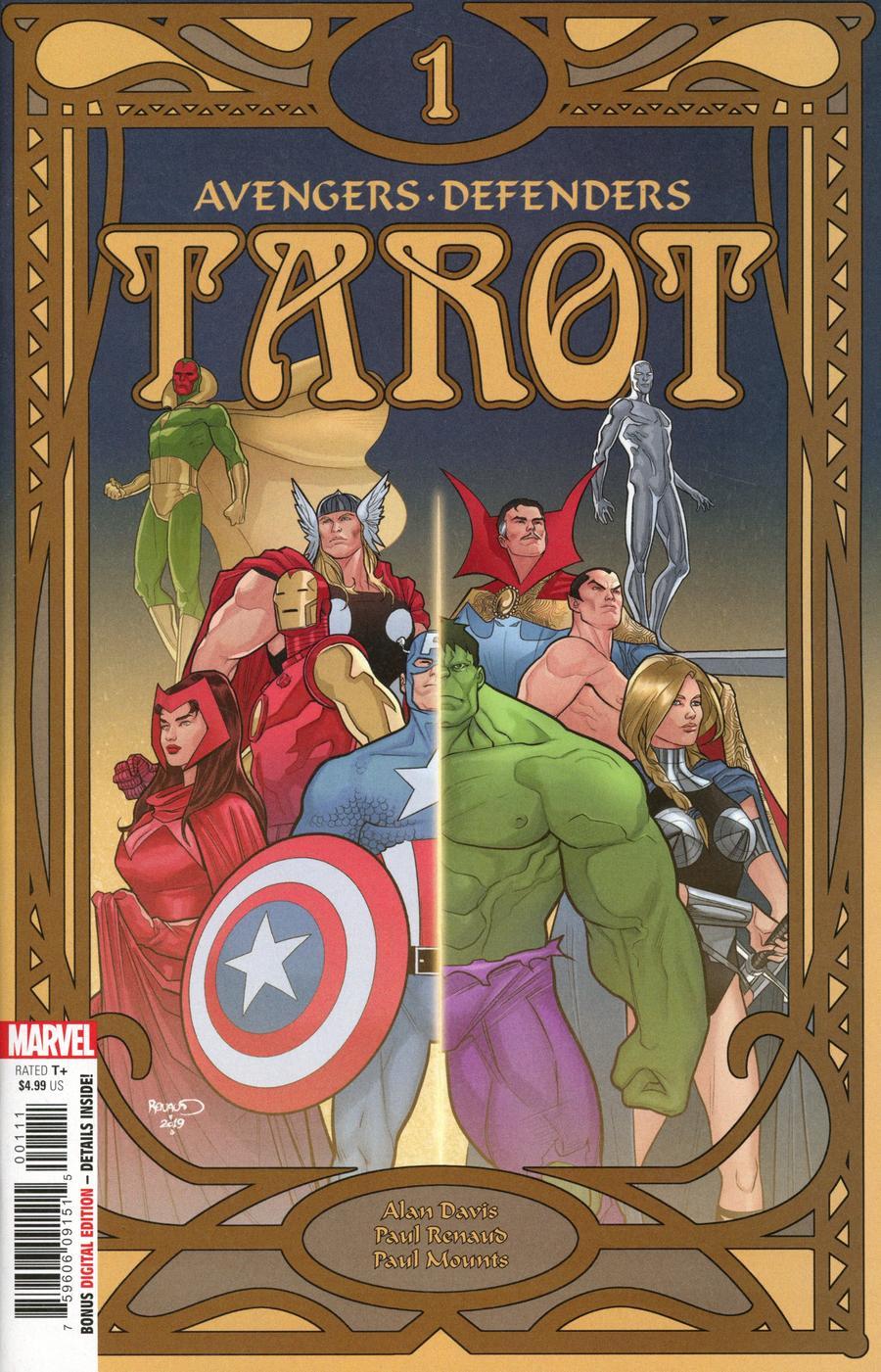 Tarot #1 Cover A Regular Paul Renaud Cover