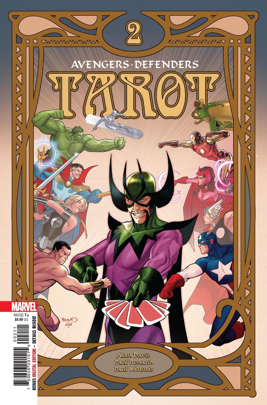 Tarot #2 Cover A Regular Paul Renaud Cover