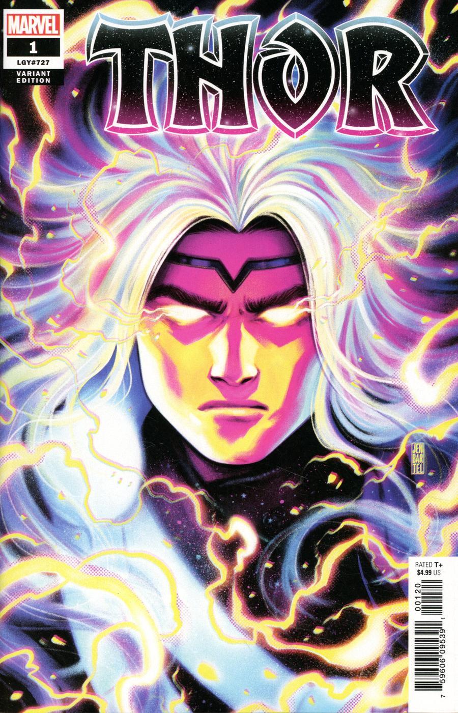 Thor Vol 6 #1 Cover F Variant Jen Bartel Cover