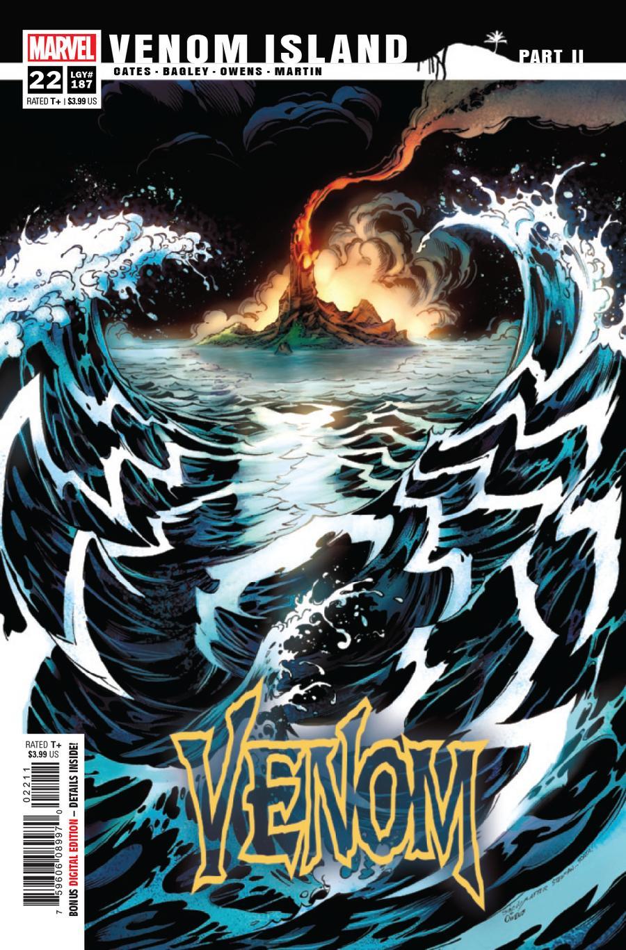 Venom Vol 4 #22 Cover A 1st Ptg Regular Mark Bagley Cover