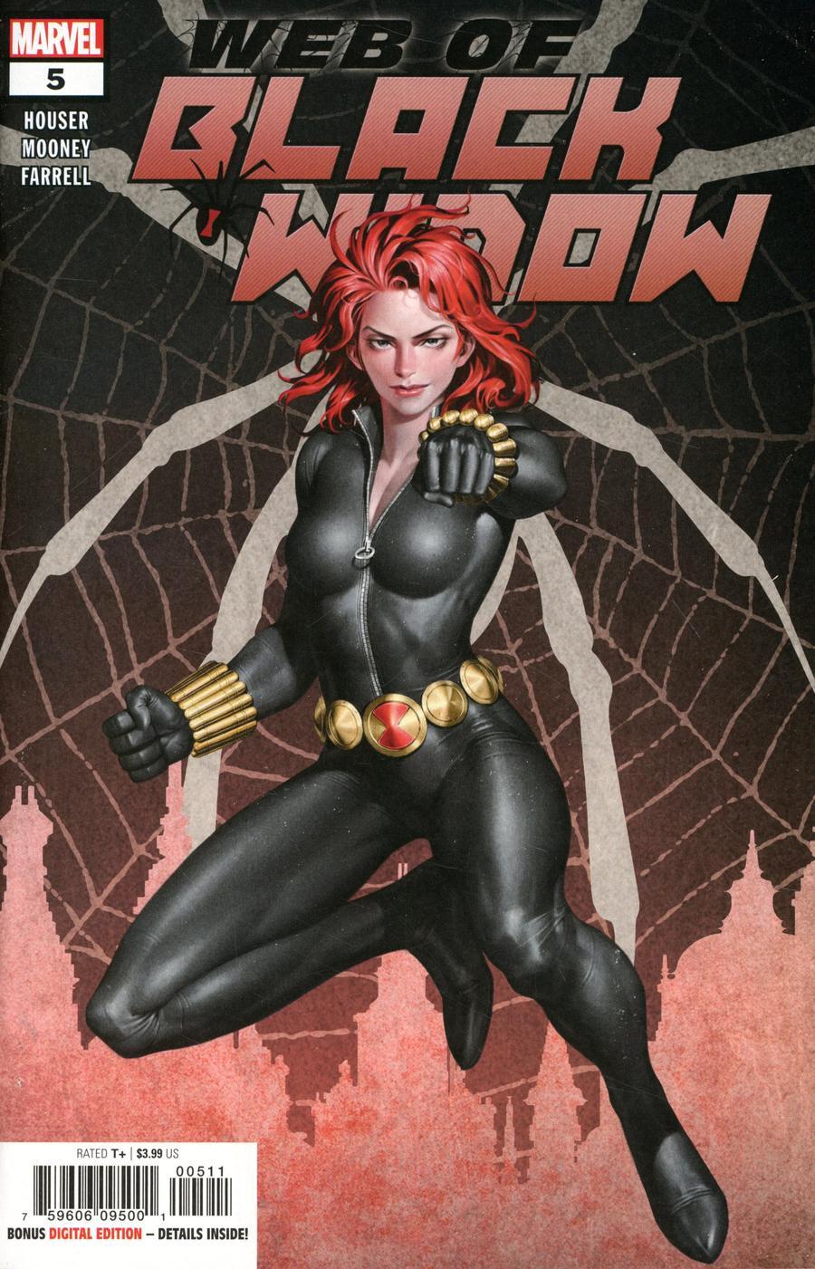 Web Of Black Widow #5 Cover A Regular Junggeun Yoon Cover