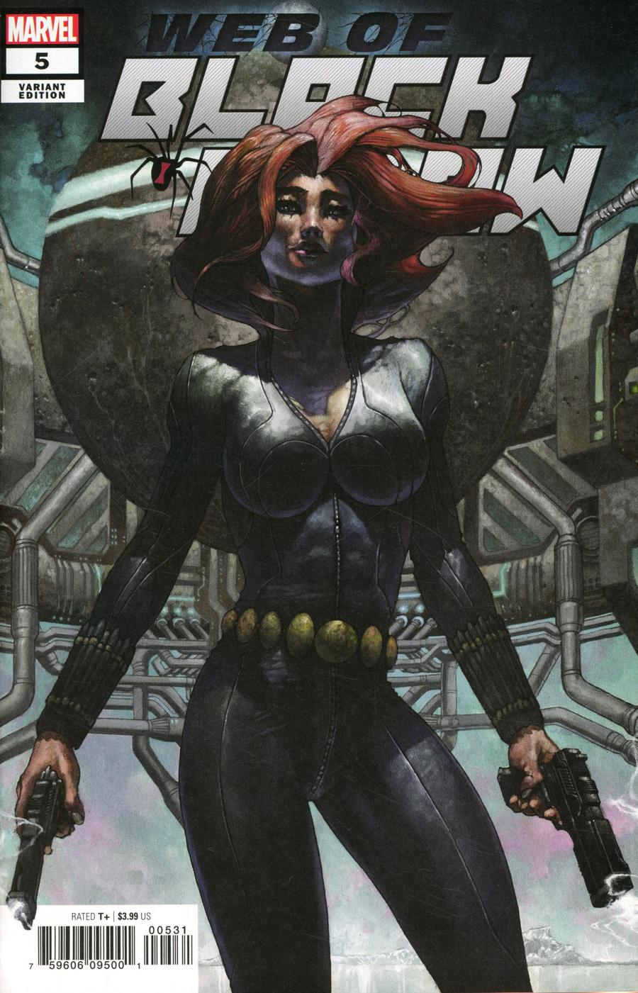 Web Of Black Widow #5 Cover B Variant Simone Bianchi Cover
