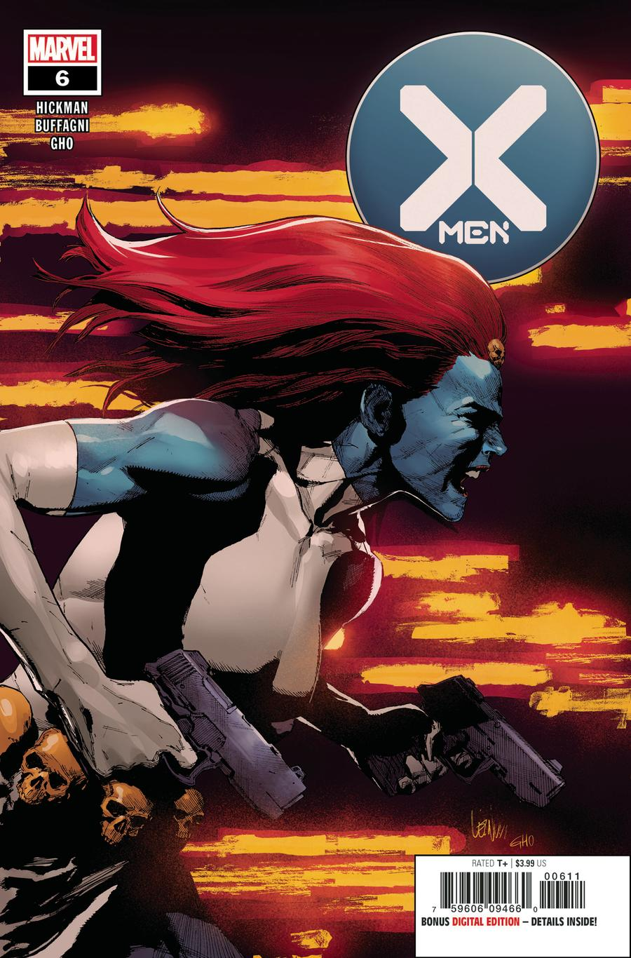 X-Men Vol 5 #6 Cover A Regular Leinil Francis Yu Cover (Dawn Of X Tie-In)