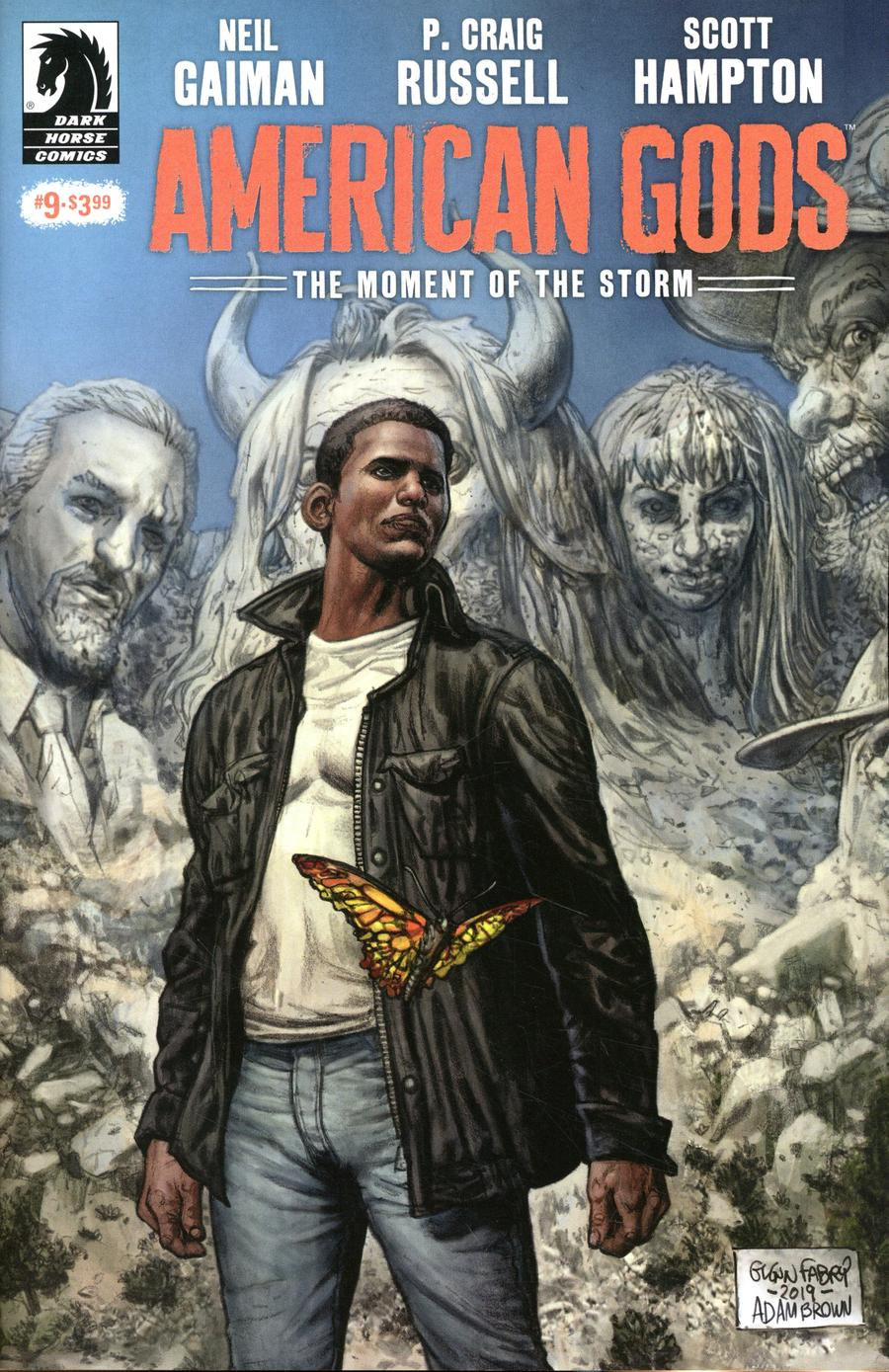 American Gods Moment Of The Storm #9 Cover A Regular Glenn Fabry Cover