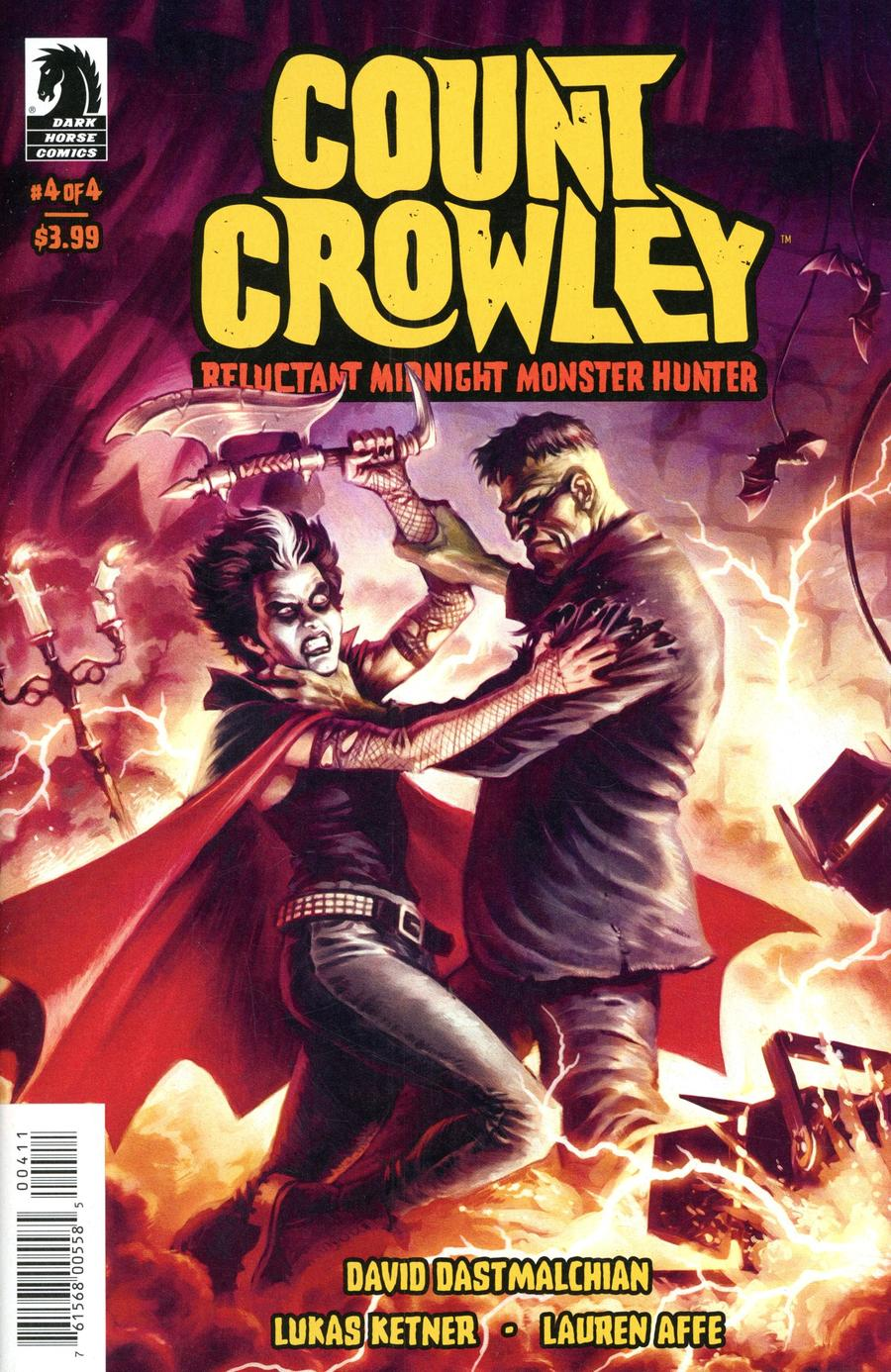 Count Crowley Reluctant Midnight Monster Hunter #4