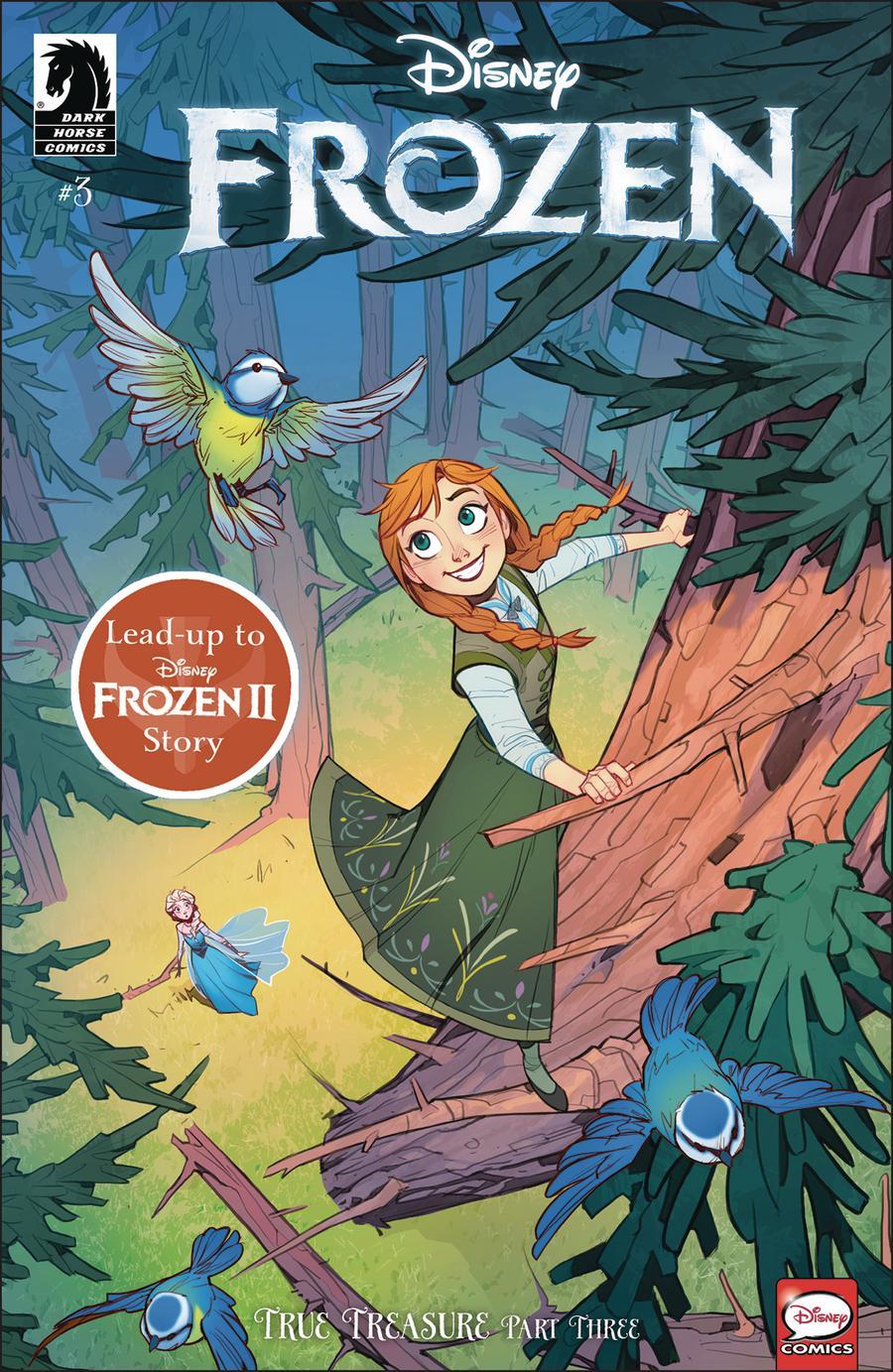 Disney Frozen True Treasure #3 Cover A Regular Anastasiia Belousova Cover