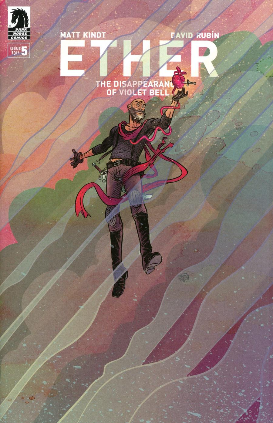 Ether Disappearance Of Violet Bell #5 Cover A Regular David Rubin Cover