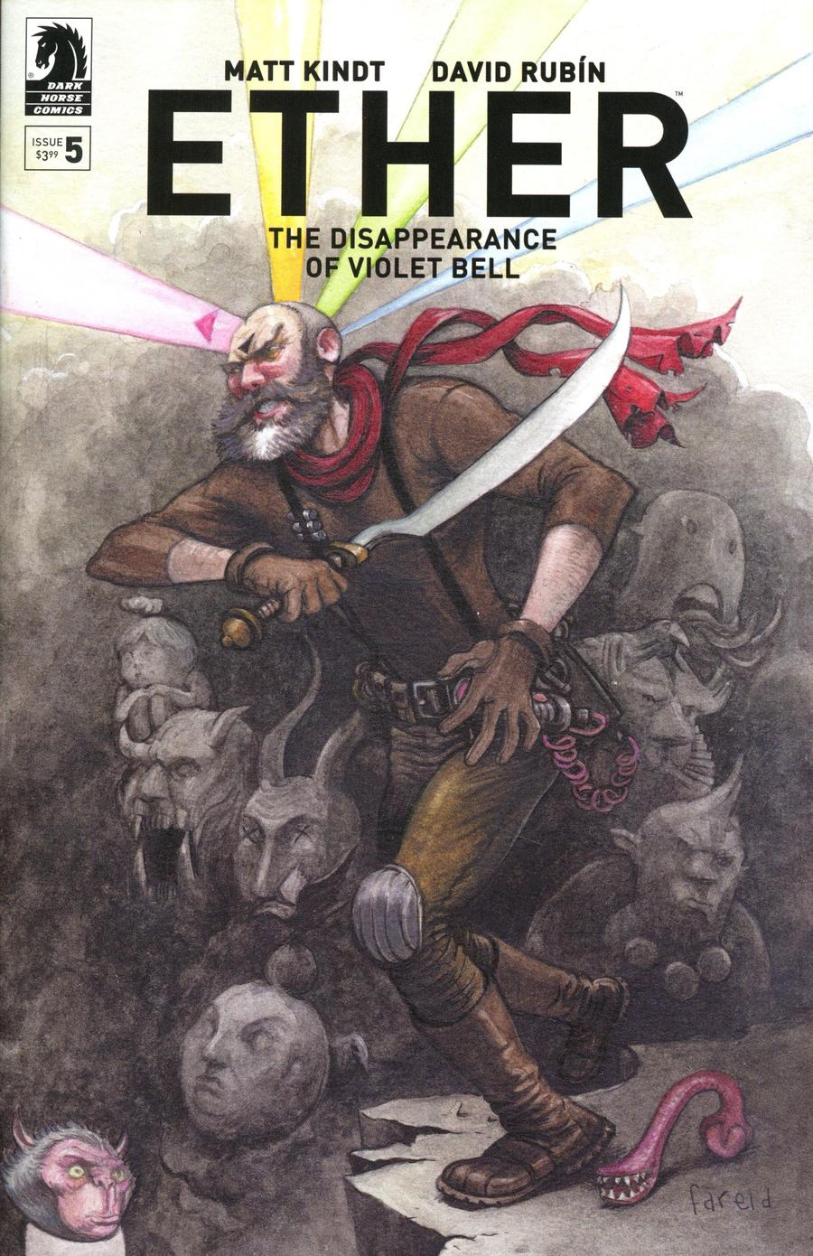 Ether Disappearance Of Violet Bell #5 Cover B Variant Farel Dalrymple Cover