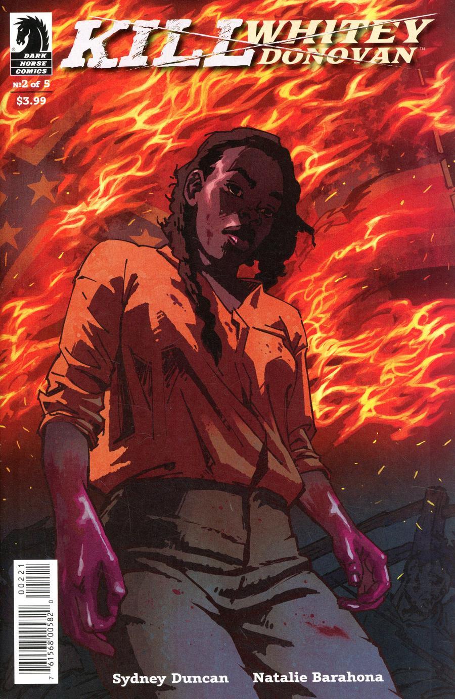 Kill Whitey Donovan #2 Cover B Variant Natalie Barahona Cover