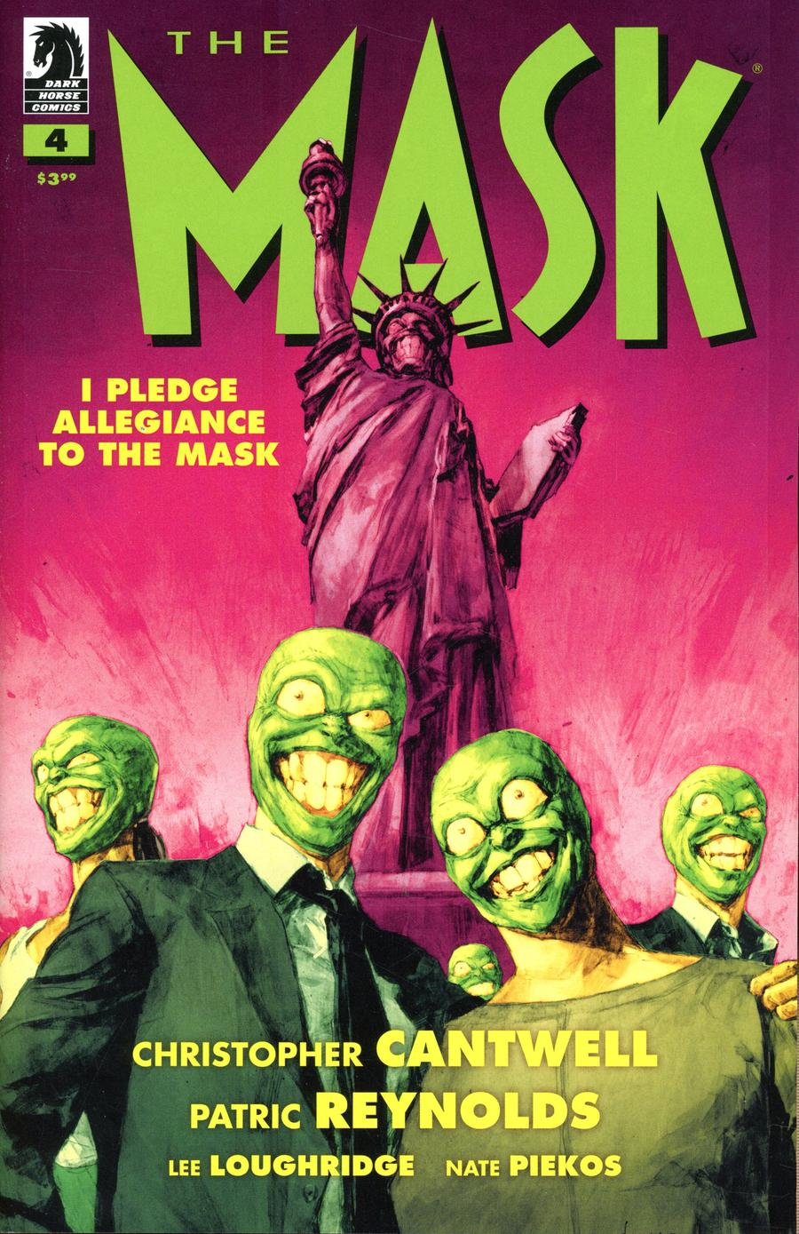 Mask I Pledge Allegiance To The Mask #4 Cover A Regular Patric Reynolds Cover