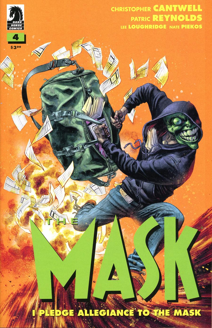 Mask I Pledge Allegiance To The Mask #4 Cover B Variant Duncan Fegredo Cover