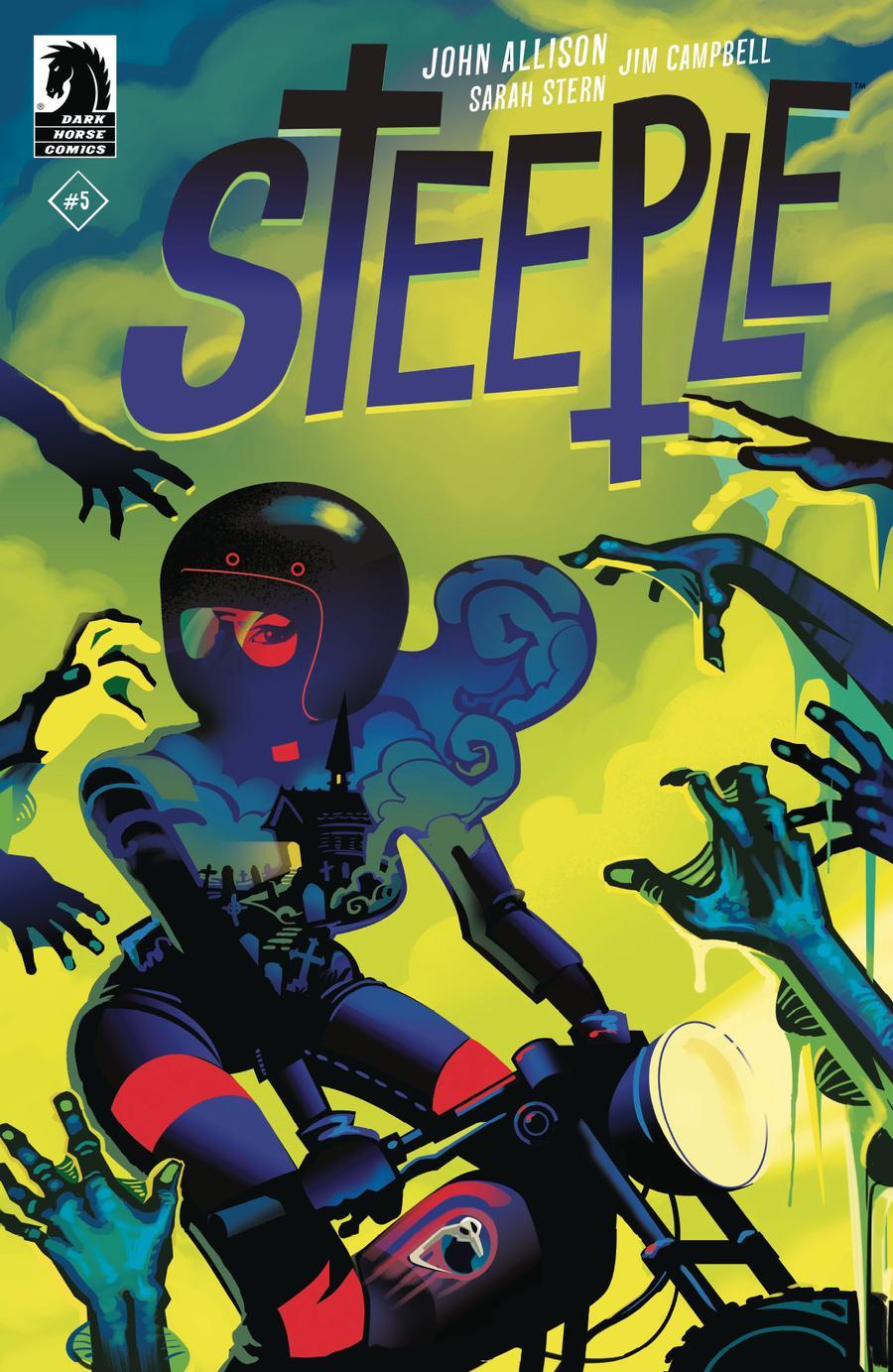 Steeple #5 Cover B Variant Robert Ball Cover