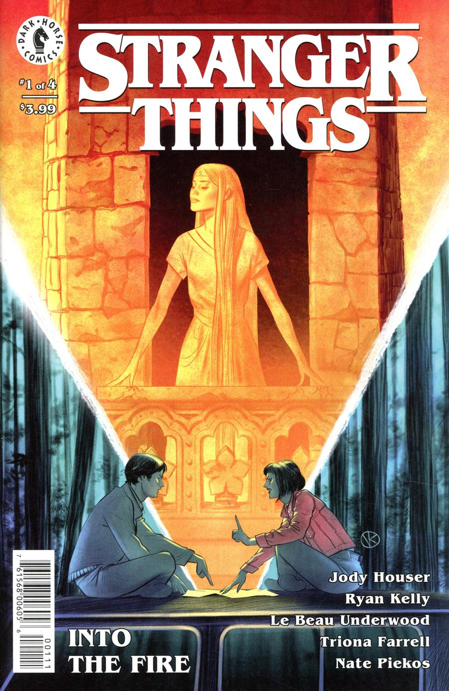 Stranger Things Into The Fire #1 Cover A Regular Viktor Kalvachev Cover