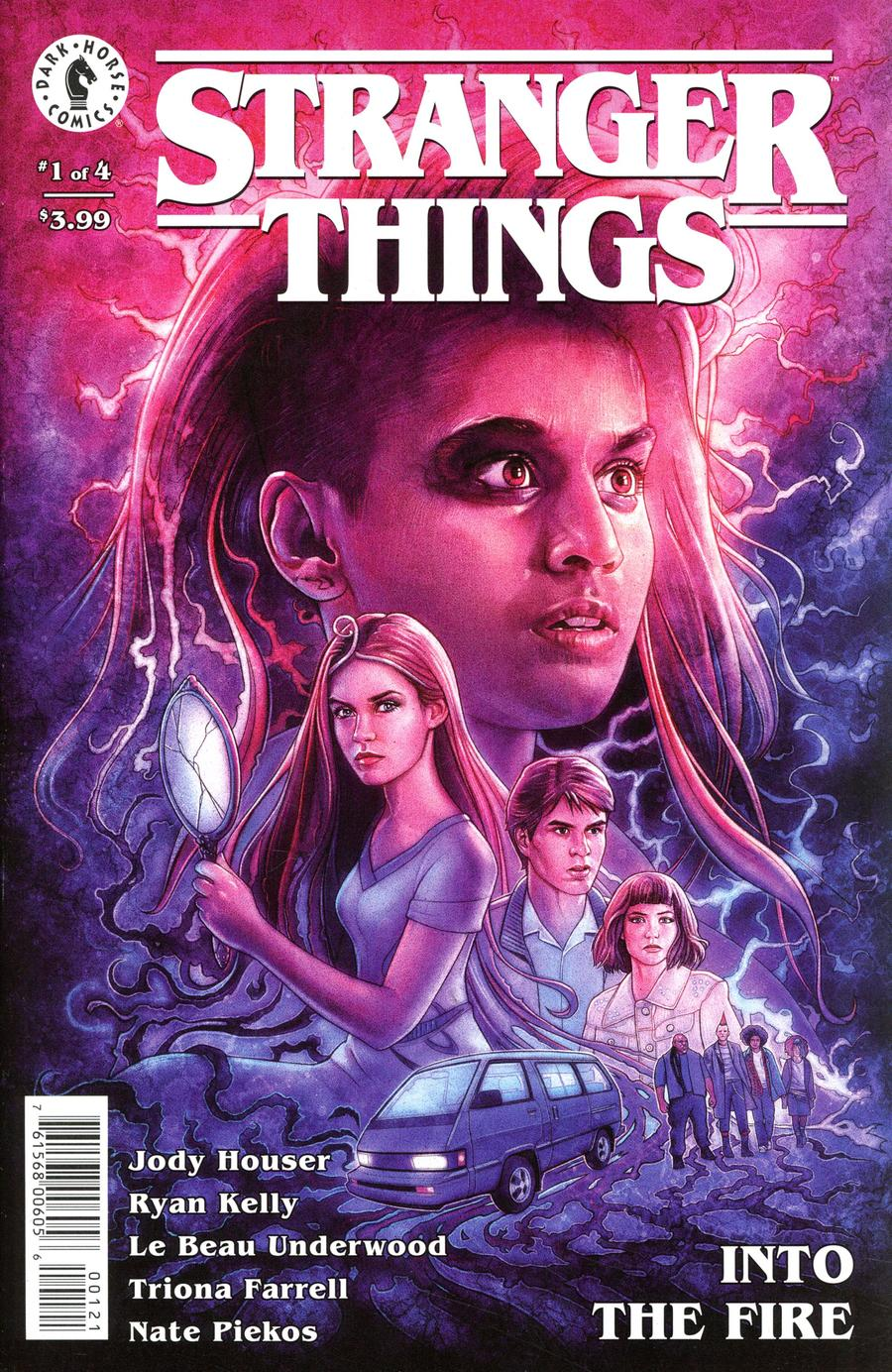 Stranger Things Into The Fire #1 Cover B Variant Kyle Lambert Cover
