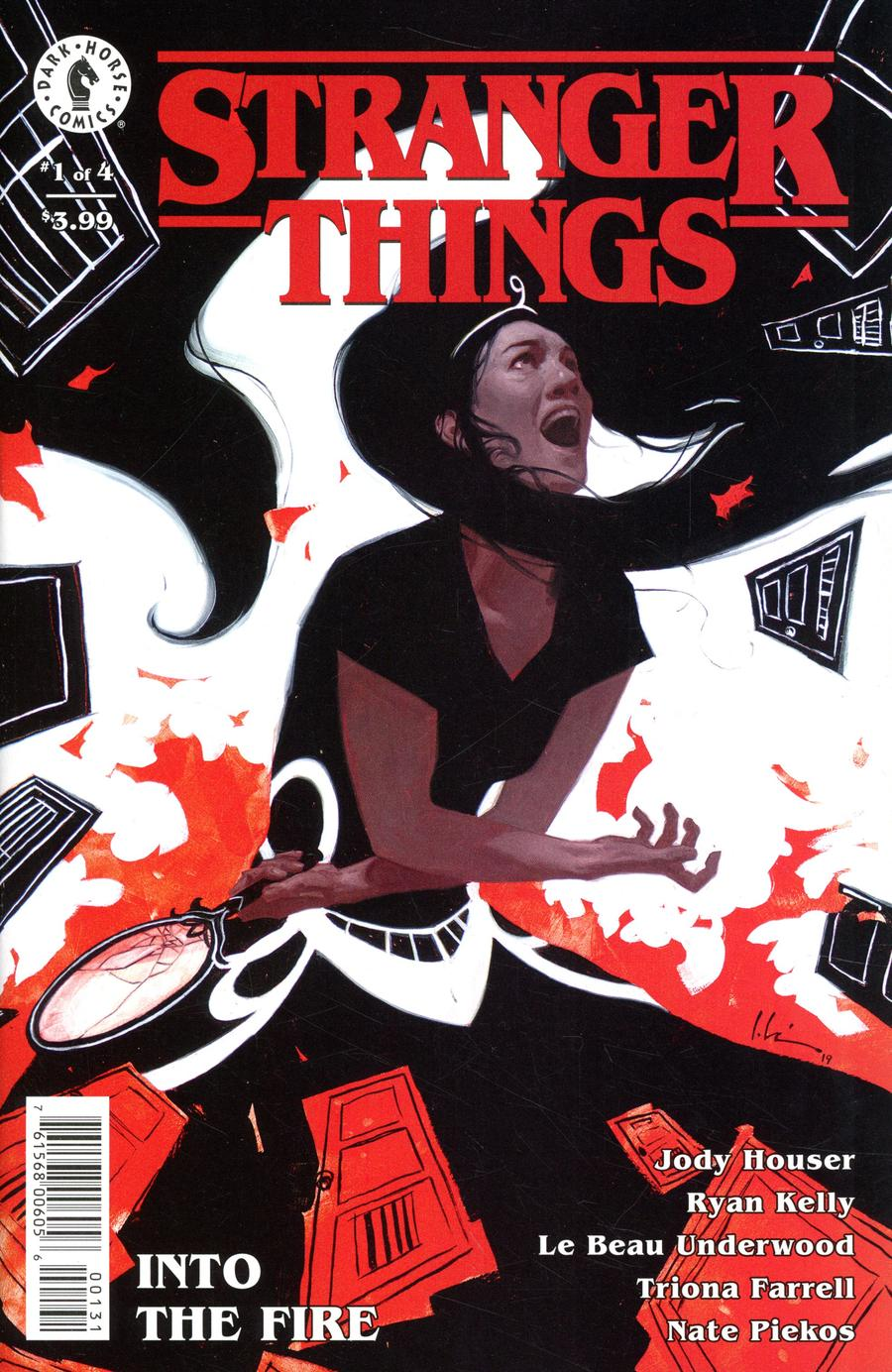 Stranger Things Into The Fire #1 Cover C Variant Jeremy Wilson Cover