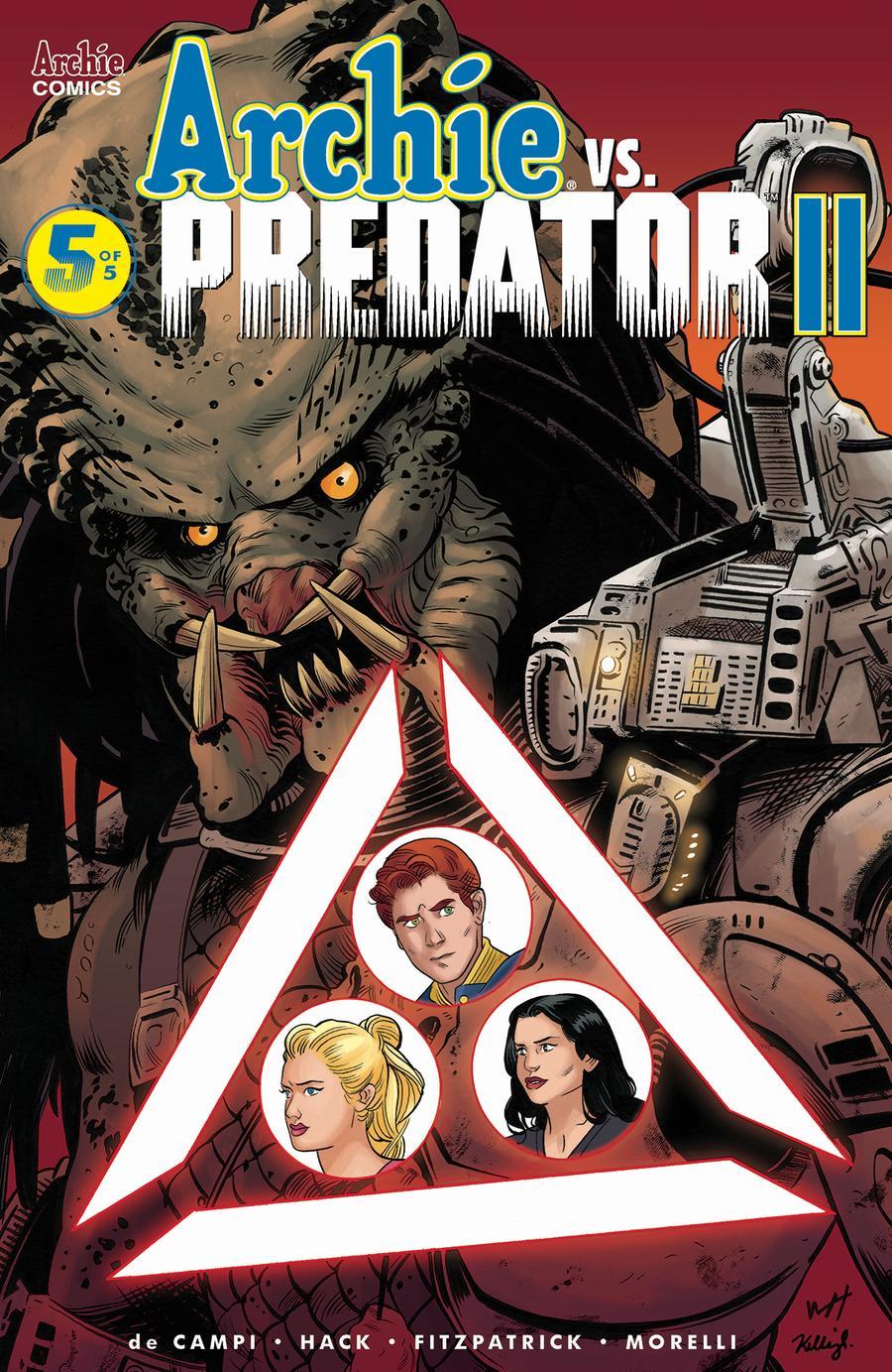 Archie vs Predator II #5 Cover F Variant Wilfredo Torres & Kelly Fitzpatrick Cover