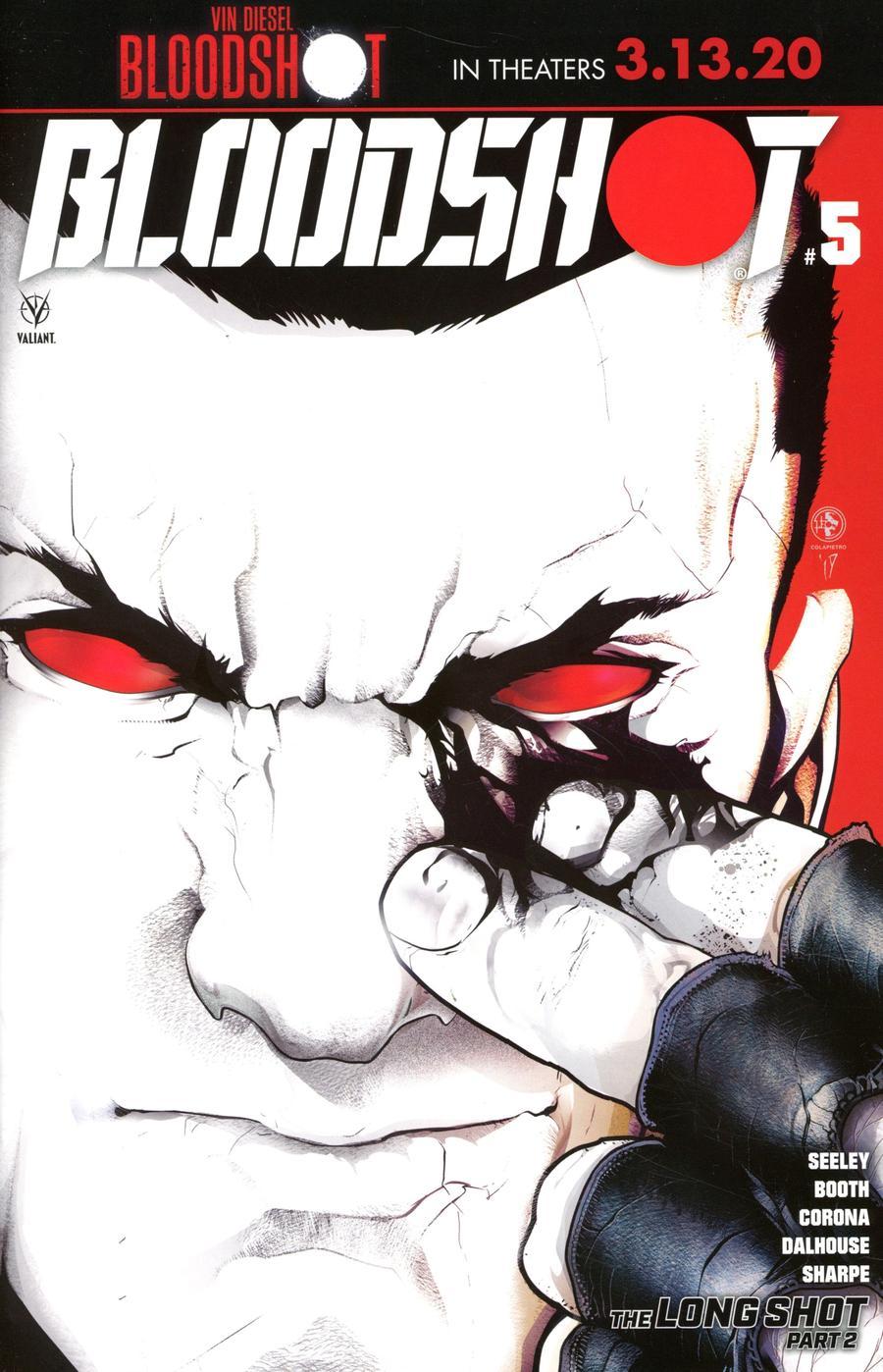 Bloodshot Vol 4 #5 Cover C Variant Leo Colapietro Cover