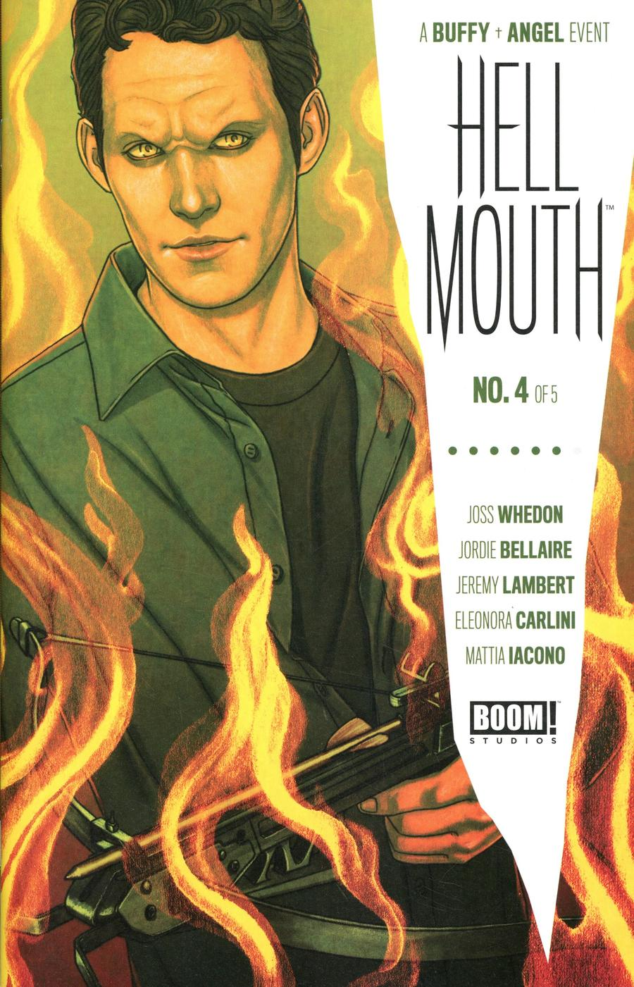 Buffy The Vampire Slayer Angel Hellmouth #4 Cover A Regular Jenny Frison Cover