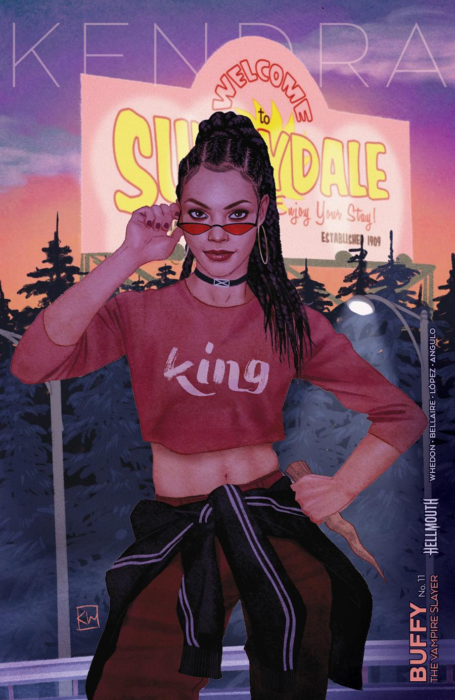 Buffy The Vampire Slayer Vol 2 #11 Cover B Variant Kevin Wada Cover (Hellmouth Tie-In)